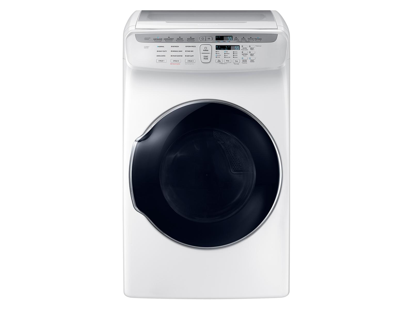7.5 cu. ft. FlexDry™ Electric Dryer in White