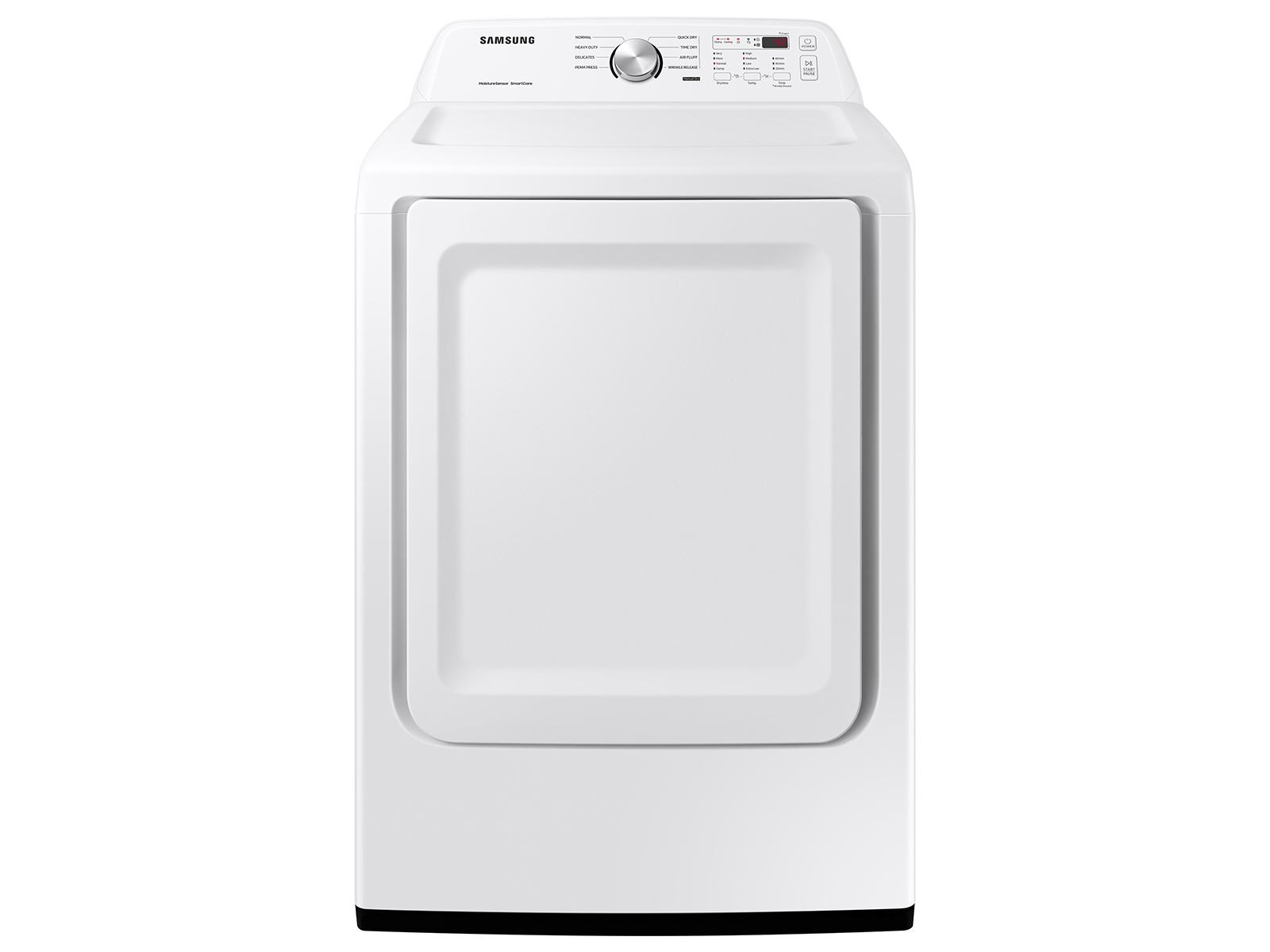 Samsung 7.2 cu. ft. Electric Dryer with Sensor Dry in White