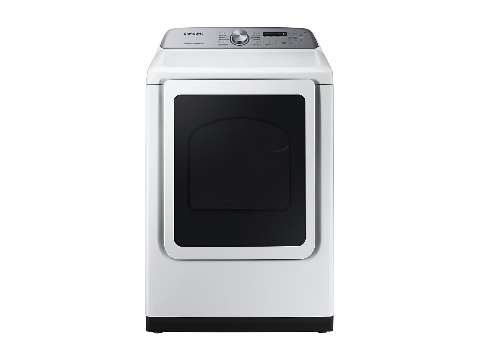 Samsung coupon: Samsung 7.4 cu. ft. Electric Dryer with Steam Sanitize+ in White(DVE50R5400W/A3)