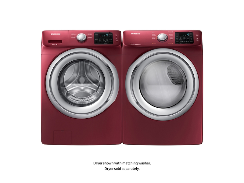 4 5 Cu Ft Front Load Washer With Vibration Reduction
