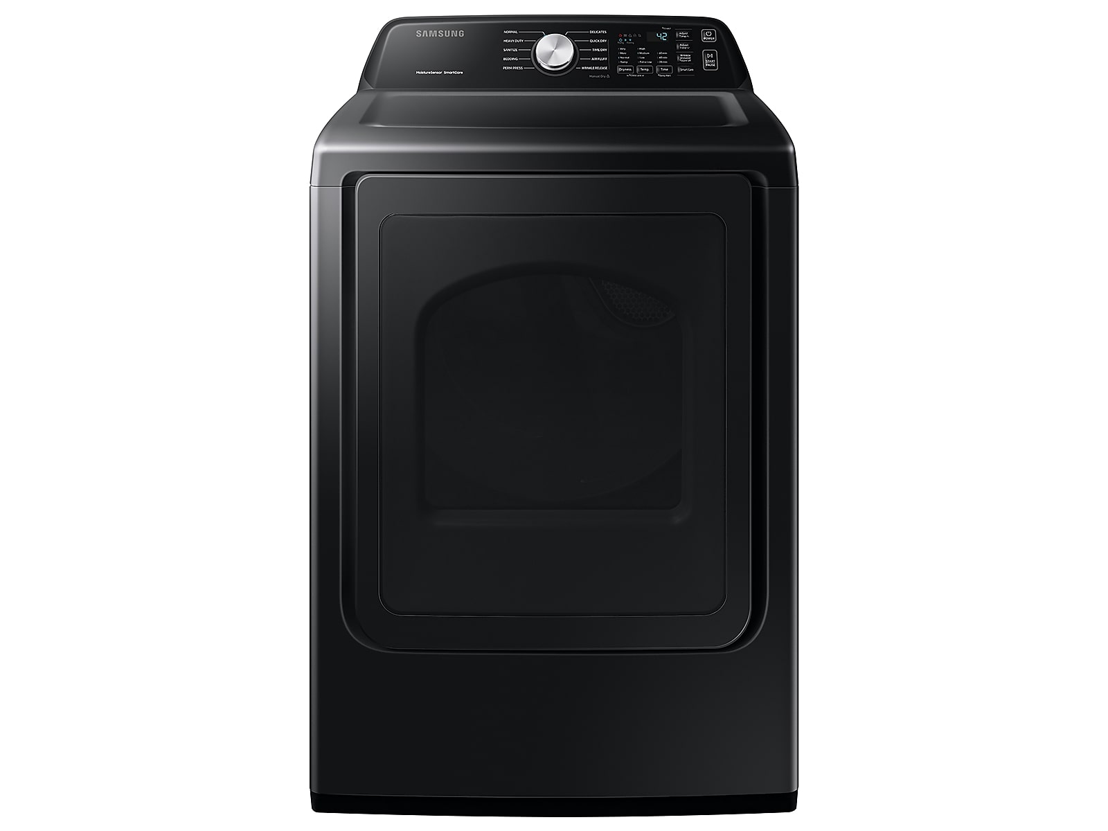 Samsung coupon: Samsung 7.4 cu. ft. Electric Dryer with Sensor Dry in Brushed Black(DVE45T3400V/A3)