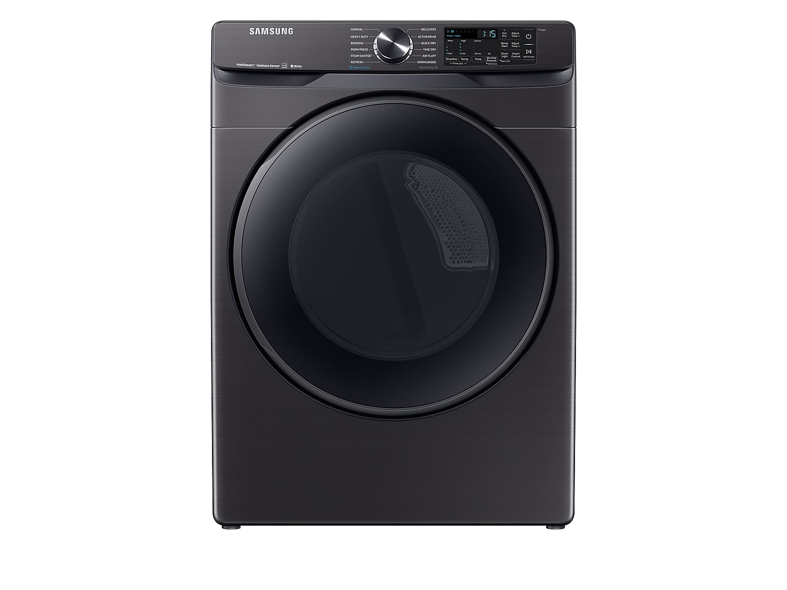 Samsung coupon: Samsung 7.5 cu. ft. Smart Gas Dryer with Steam Sanitize+ in Black Stainless Steel(DVG50R8500V/A3)