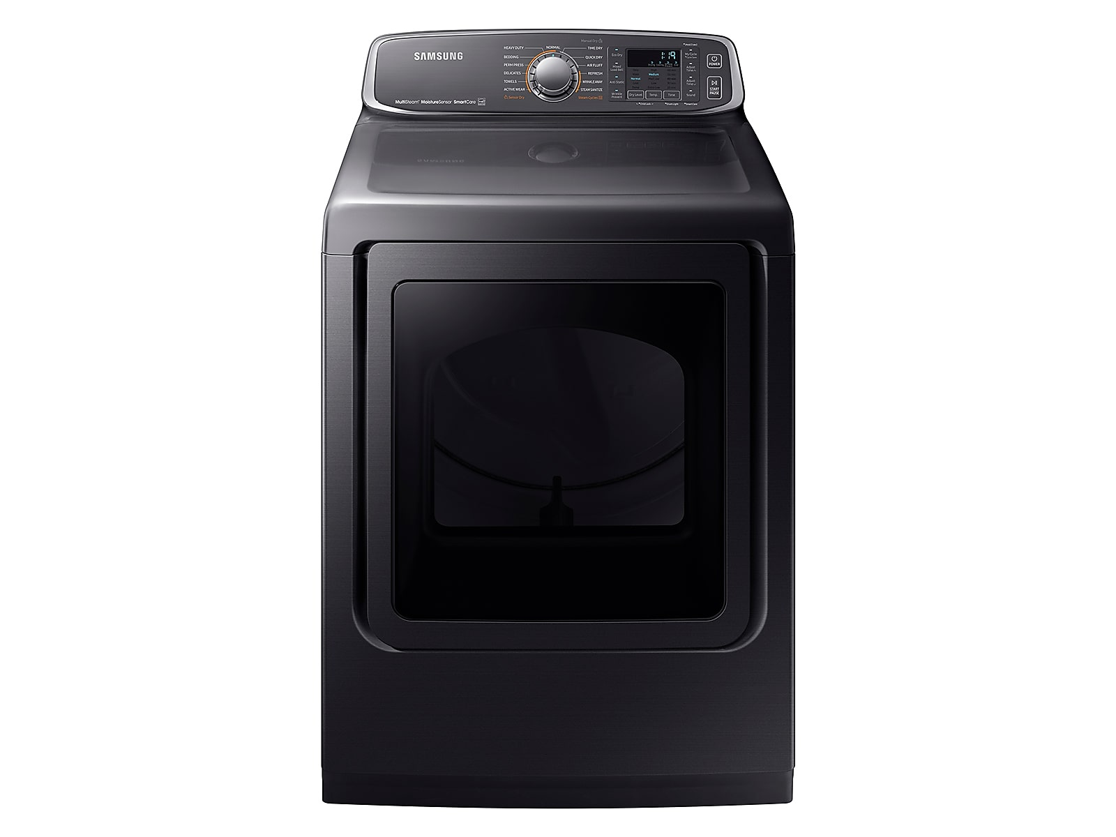 Samsung coupon: Samsung 7.4 cu. ft. Gas Dryer in Black Stainless Steel(DVG52M7750V/A3)