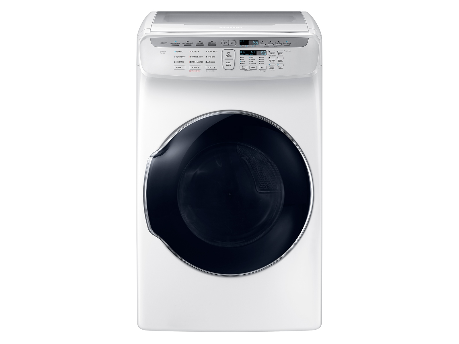 7.5 cu. ft. FlexDry™ Gas Dryer in White