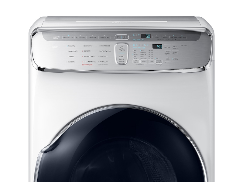 Model: DVG60M9900W | DV9900 7.5 cu. ft. FlexDry™ Gas Dryer