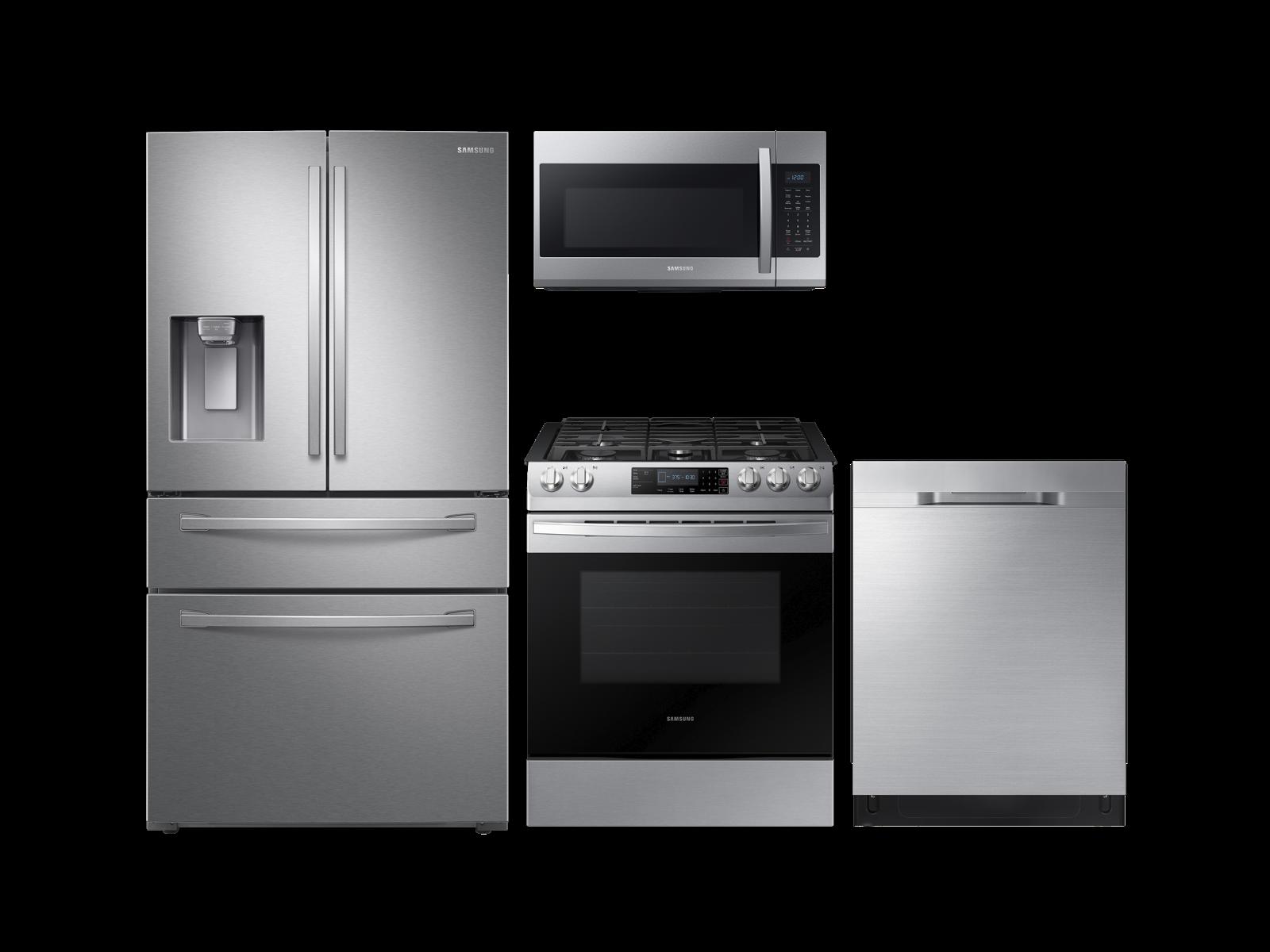 Modern built-in design with gas range