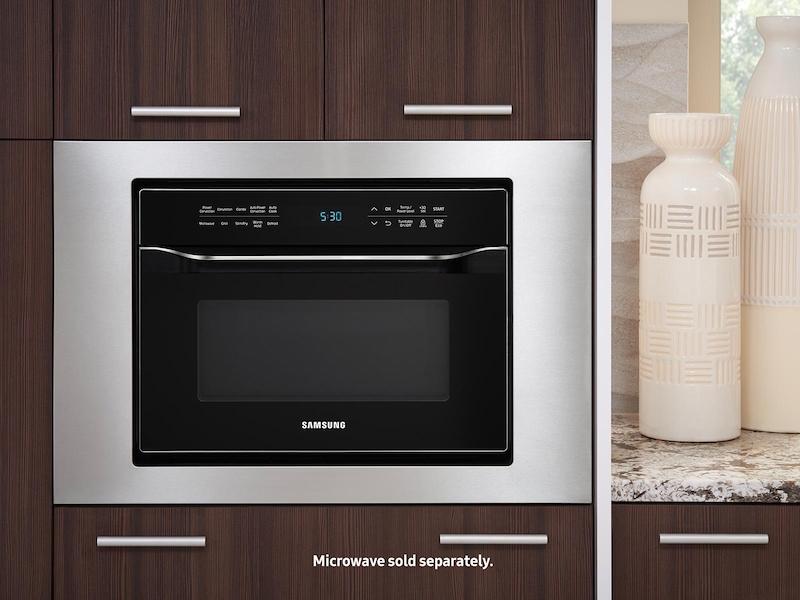 Microwave Trim Kit Home Liances Accessories Ma Tk3080ct Aa Samsung Us