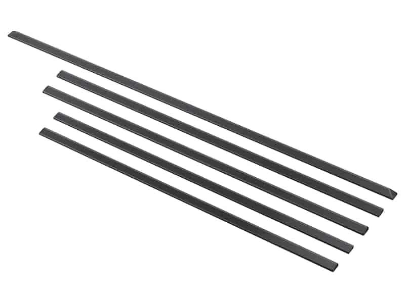 "Trim Kit for 30"" Slide in Range, 5 piece in Black Stainless Steel"