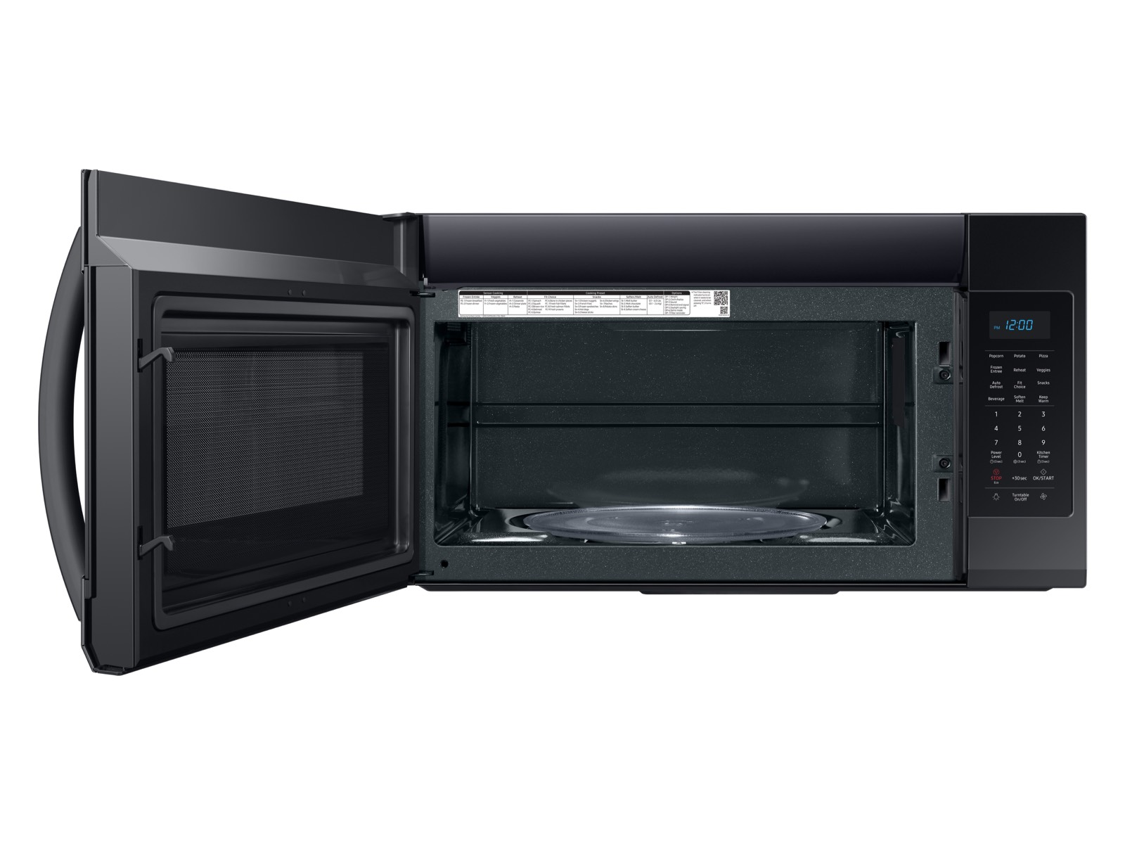 Thumbnail image of 1.9 cu ft Over The Range Microwave with Sensor Cooking in Black