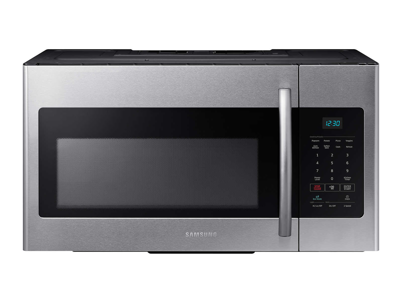 Range Microwave With Fan And Light