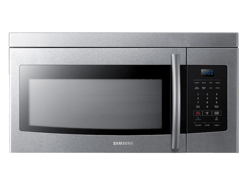 1 6 Cu Ft Over The Range Microwave In Stainless Steel