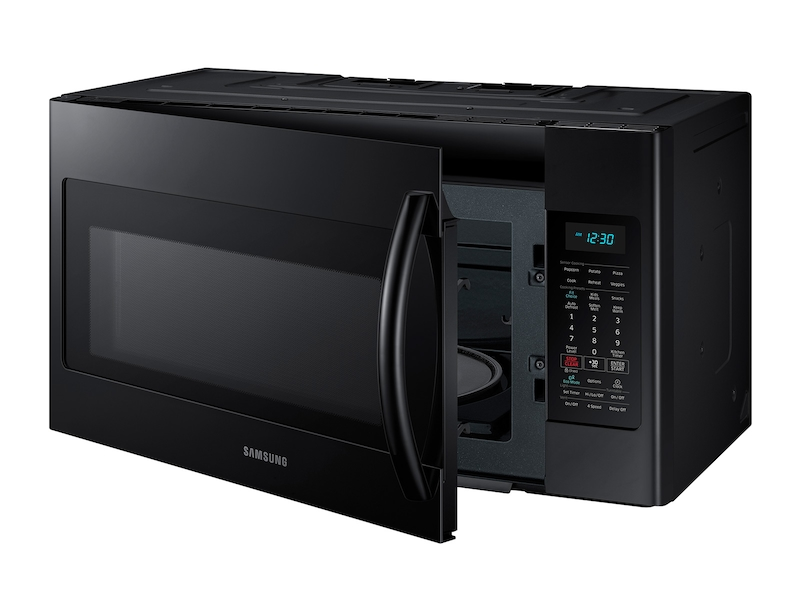 Over The Range Microwave With Sensor Cooking Microwaves Me18h704sfb Aa Samsung Us