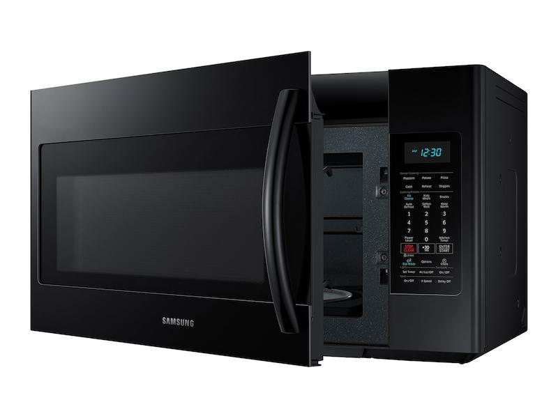 Over The Range Microwave With Sensor Cooking Microwaves Me18h704sfb Aa Samsung Us