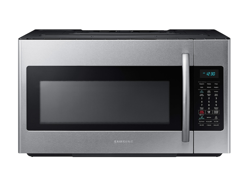 1 8 Cu Ft Over The Range Microwave With Sensor Cooking In Fingerprint Resistant Stainless Steel