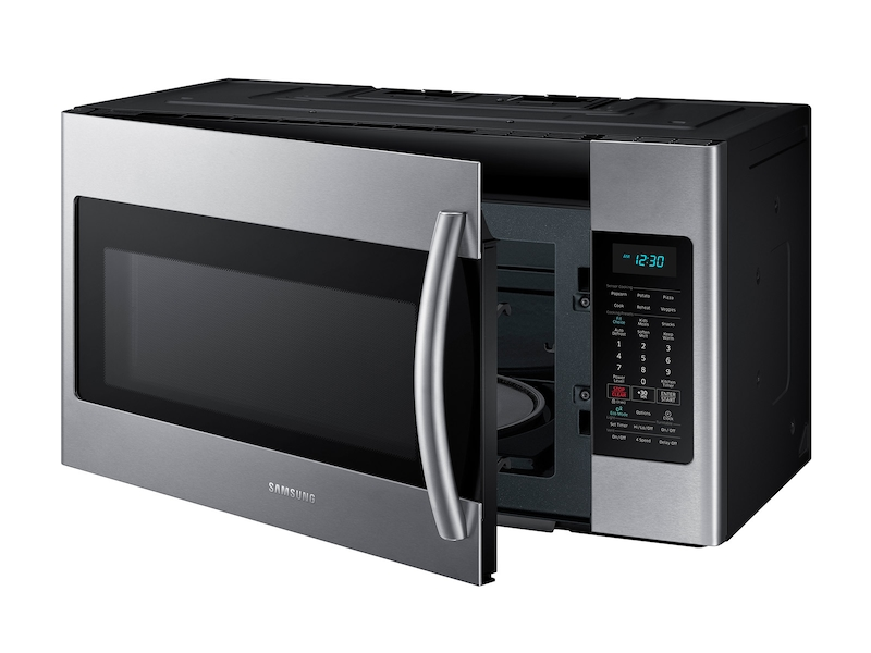 Over The Range Microwave With Sensor Cooking Microwaves Me18h704sfs Aa Samsung Us