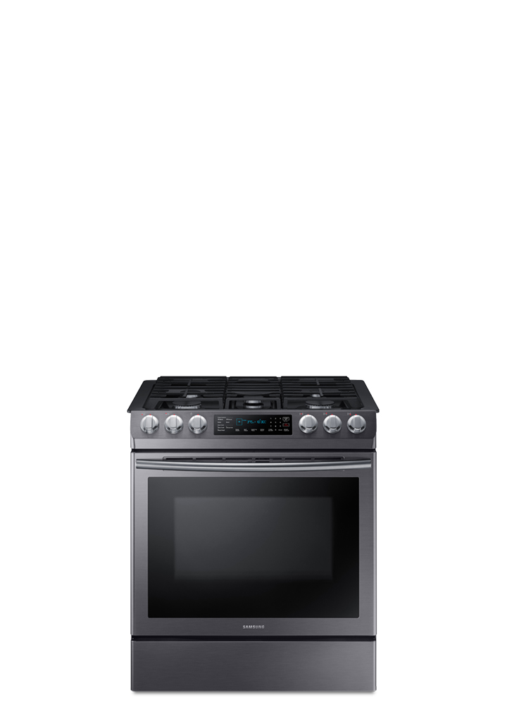Save up to 40% on gas ranges.
