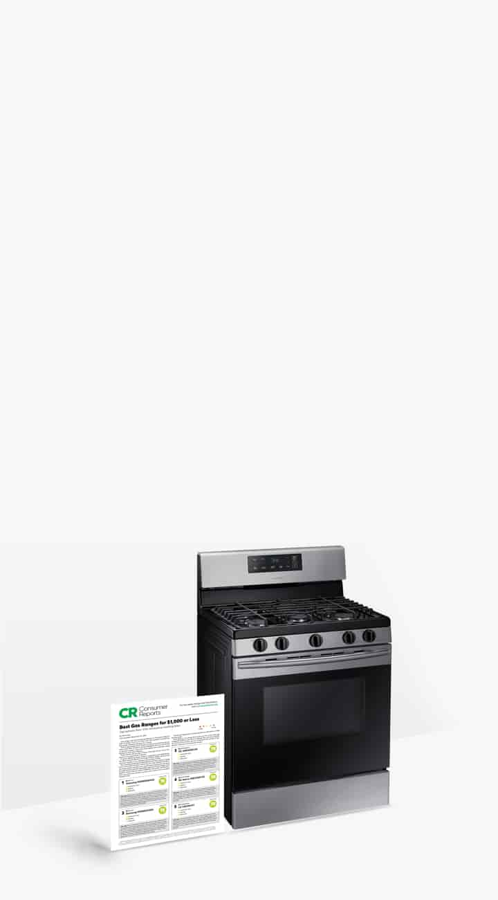 Superior affordable gas ranges