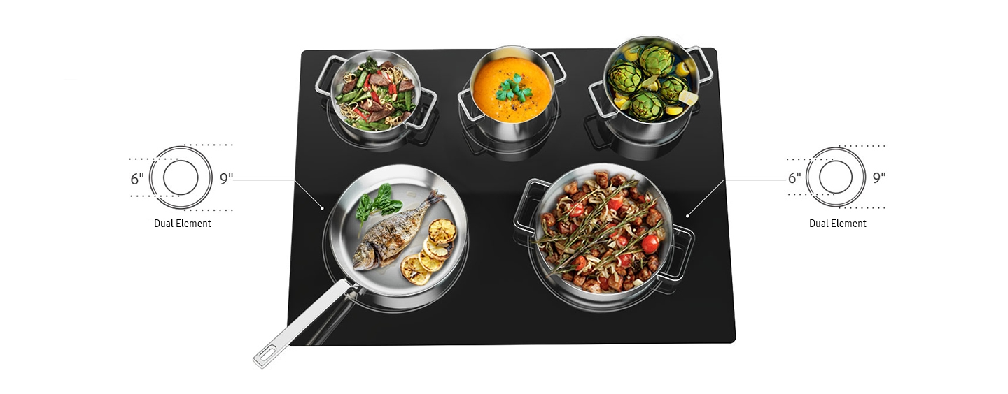 Flexible Cooktop
