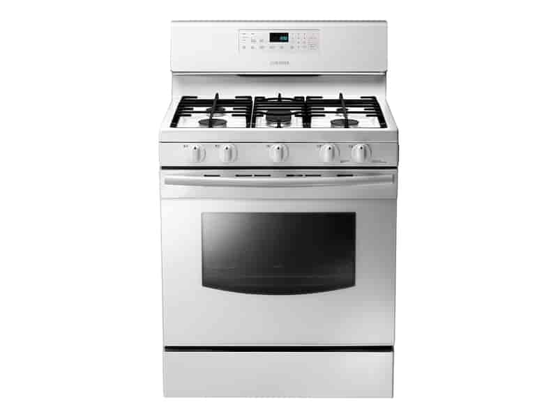 5.8 cu. ft. Gas Range in White