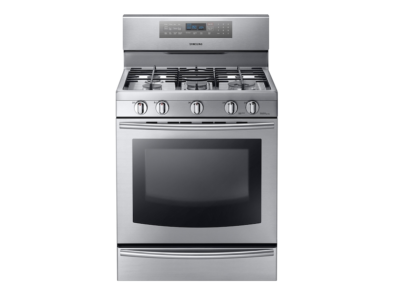 Gas Range With True Convection Ranges