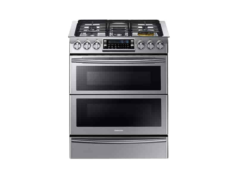 Slide In Dual Fuel Range With Flex Duo And