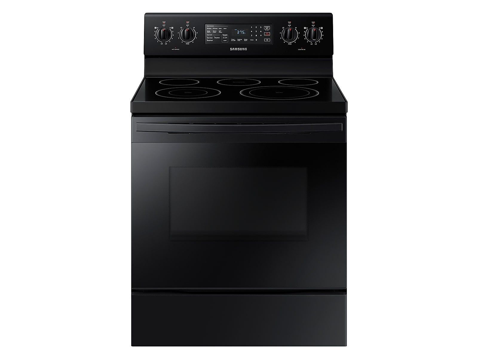 Samsung 5.9 cu. ft. Freestanding Electric Range with Convection in Black(NE59T4321SB/AA)