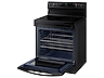 Thumbnail image of 6.3 cu. ft. Smart Freestanding Electric Range with Steam Clean in Black