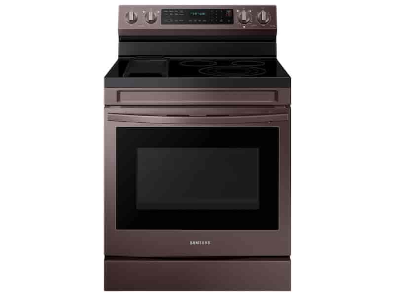 6.3 cu. ft. Smart Freestanding Electric Range with No-Preheat Air Fry, Convection+ & Griddle in Tuscan Stainless Steel