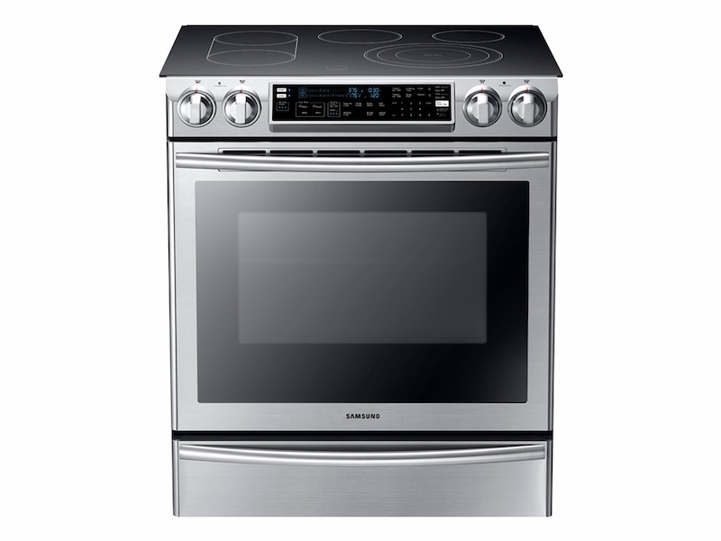 Slide In Electric Range With Flex Duo Oven Ranges   NE58F9710WS/AA |  Samsung US