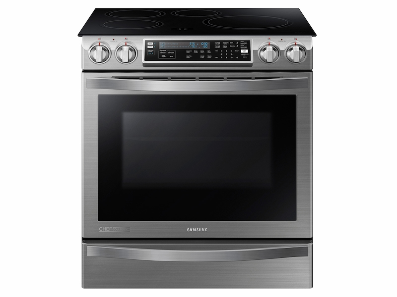 4d6d6865662 Slide-In Induction Chef Collection Range with Flex Duo™ Oven Ranges -  NE58H9970WS AA