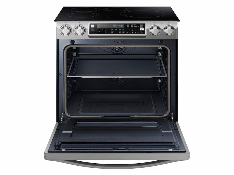 5.8 cu. ft. Slide-In Induction Chef Collection Range with Flex Duo™ Oven
