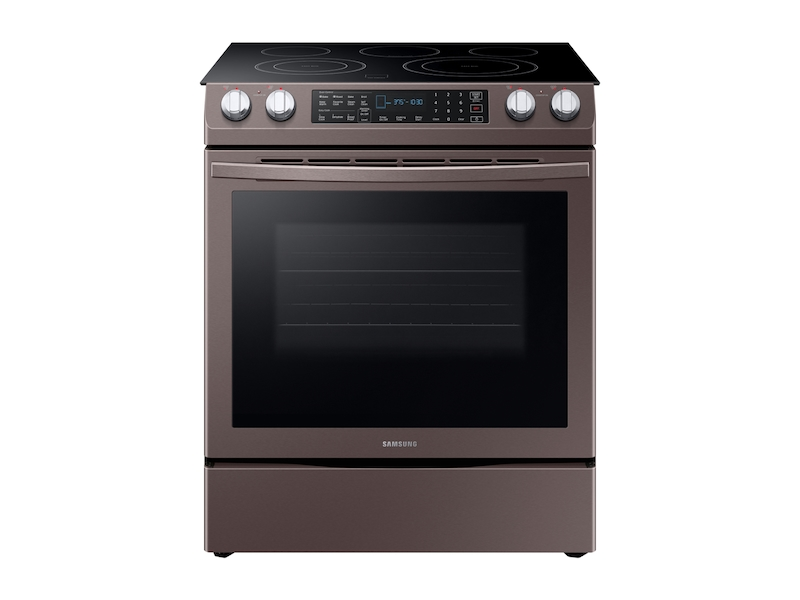 5 8 Cu Ft Slide In Electric Range Tuscan Stainless Steel