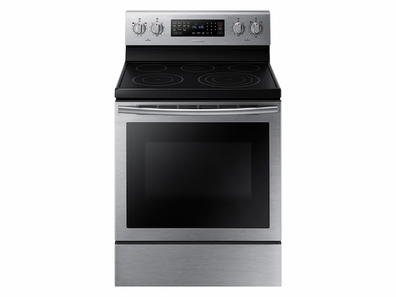 Electric Range With True Convection