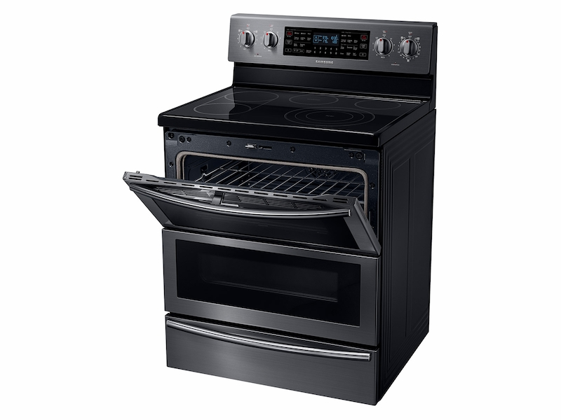 5.9 cu. ft. Electric Flex Duo™ Range with Soft Close and Dual Door