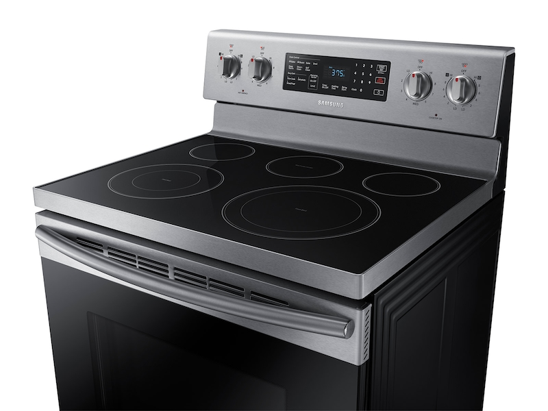 5 9 Cu Ft Freestanding Electric Range With Warming