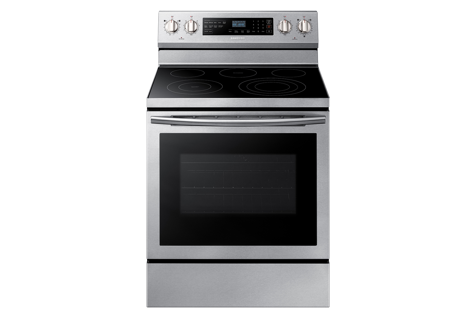 Freestanding Electric Range With True Convection Ranges Ne59n6630ss Aa Samsung Us