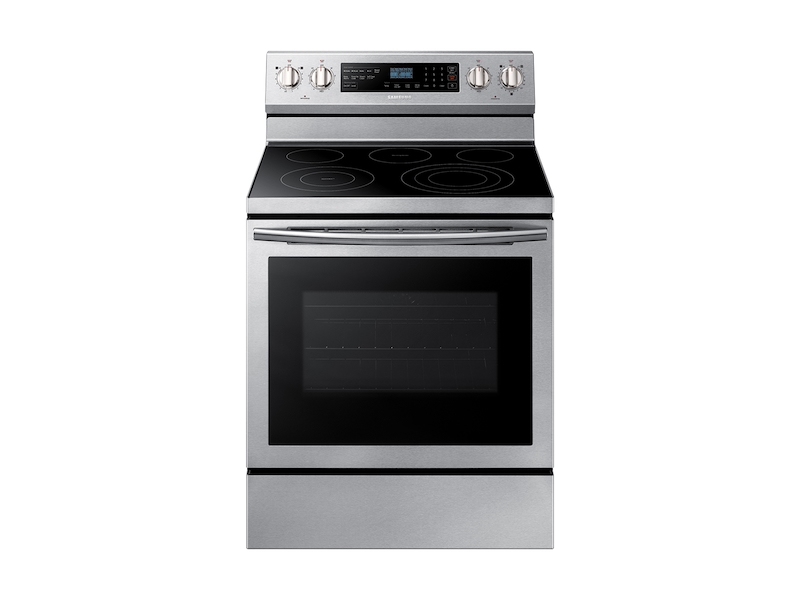 5 9 Cu Ft Freestanding Electric Range With True Convection In