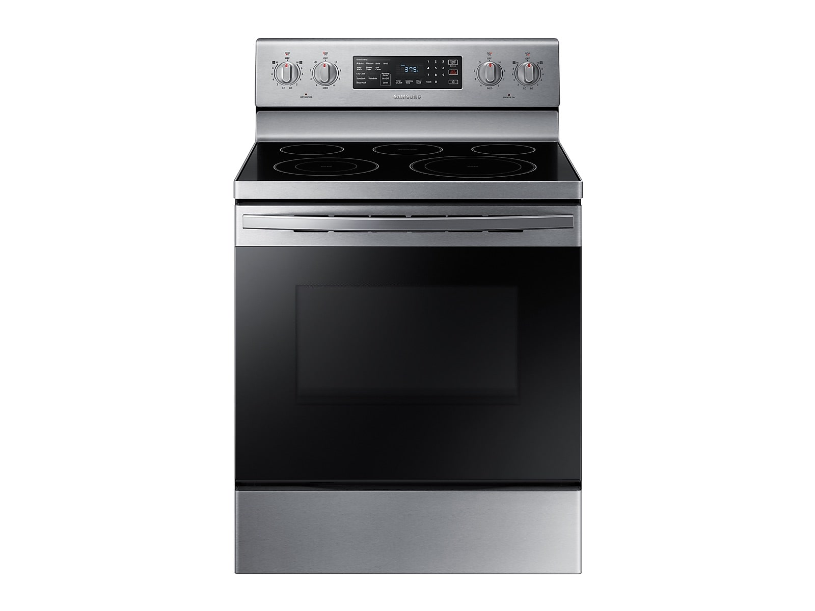 Samsung 5.9 cu. ft. Freestanding Electric Range with Convection in Stainless Steel(NE59R4321SS/AA)