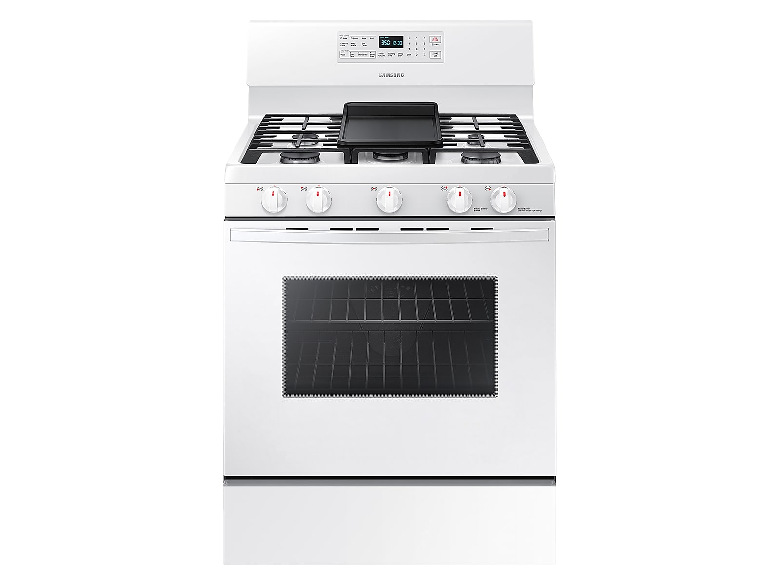 Samsung 5.8 cu. ft. Freestanding Gas Range with Convection in White(NX58T5601SW/AA)