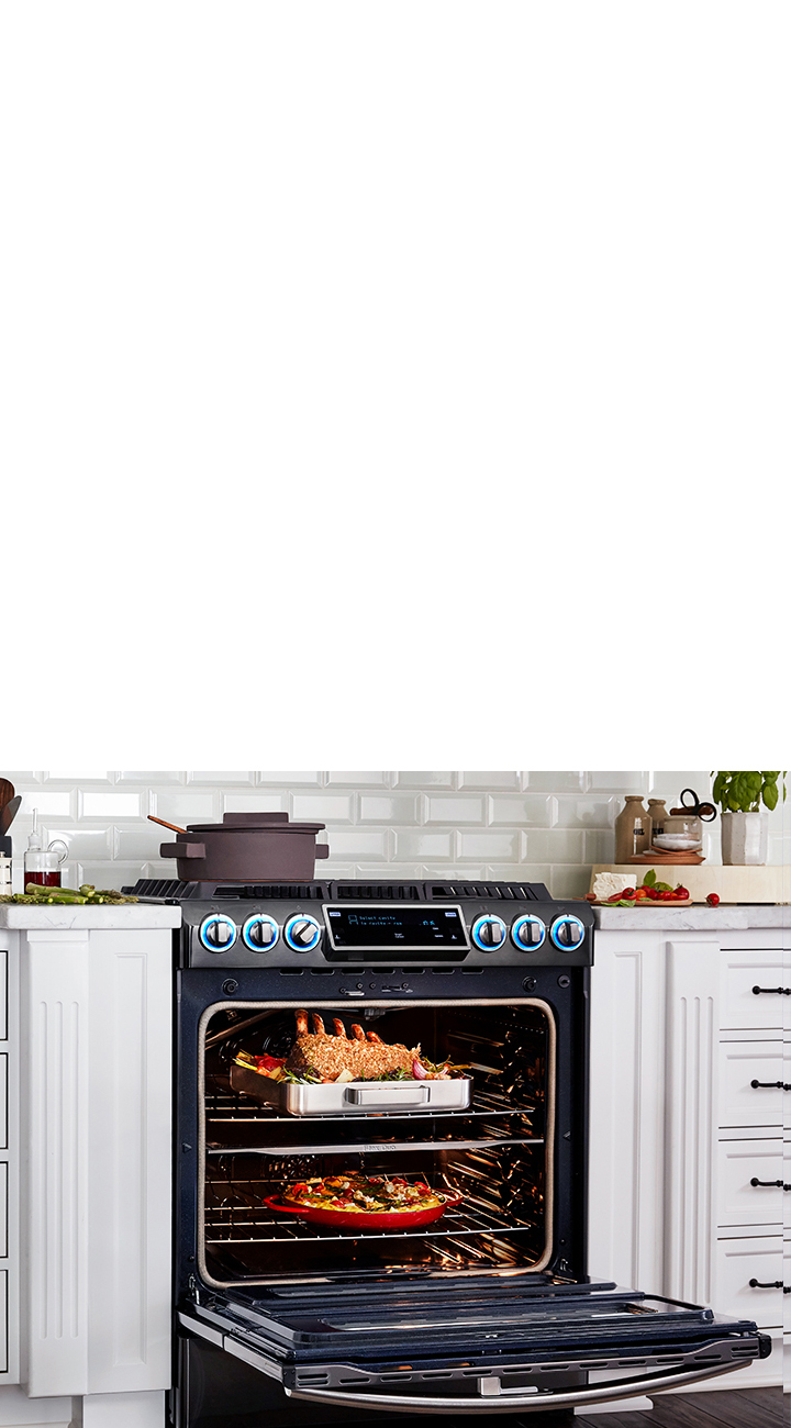 Best Range Features | Smart Ranges & Stoves | Samsung US on mobile home wall oven, mobile home gas ovens, mobile home built in ovens,