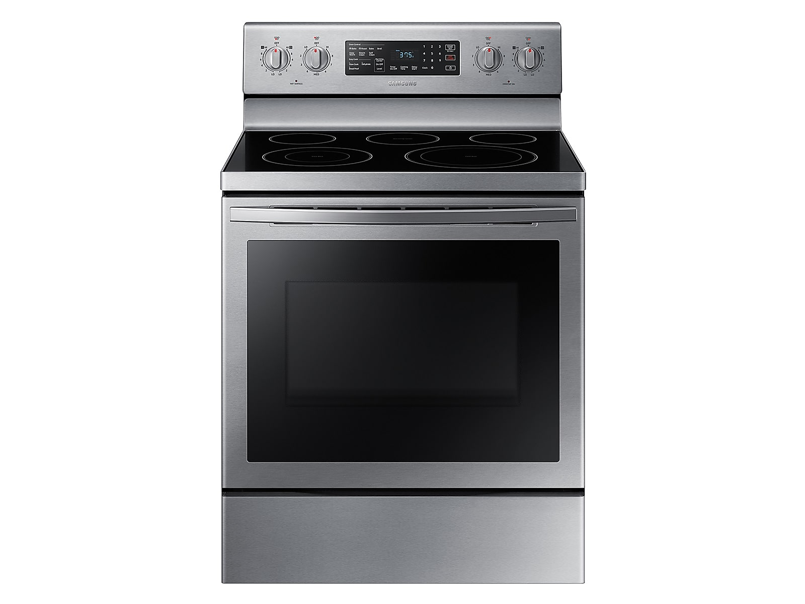 Samsung 5.9 cu. ft. Freestanding Electric Range with Air Fry and Convection in Stainless Steel(NE59T7511SS/AA)