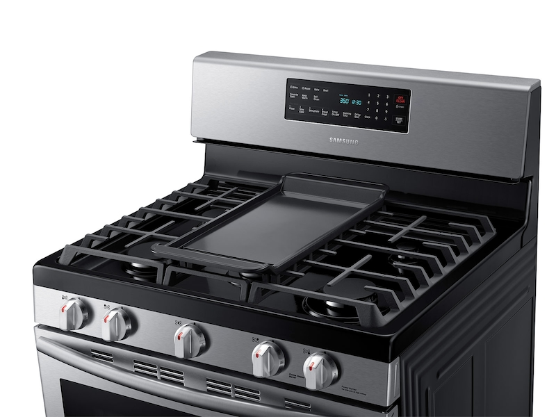 Gas Range With Convection Ranges Nx58h5600ss Aa Samsung Us