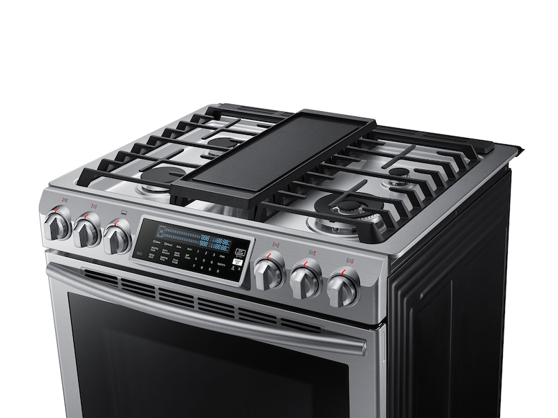 5 8 Cu Ft Slide In Gas Range With True Convection