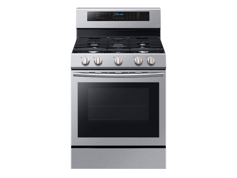 Freestanding Gas Range With True Convection