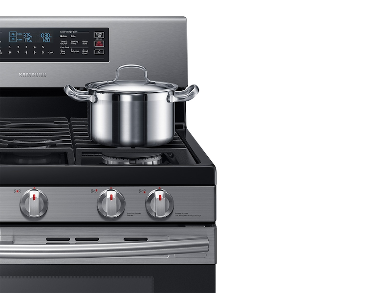 5 8 Cu Ft Freestanding Gas Range With 16k And 15k Btu