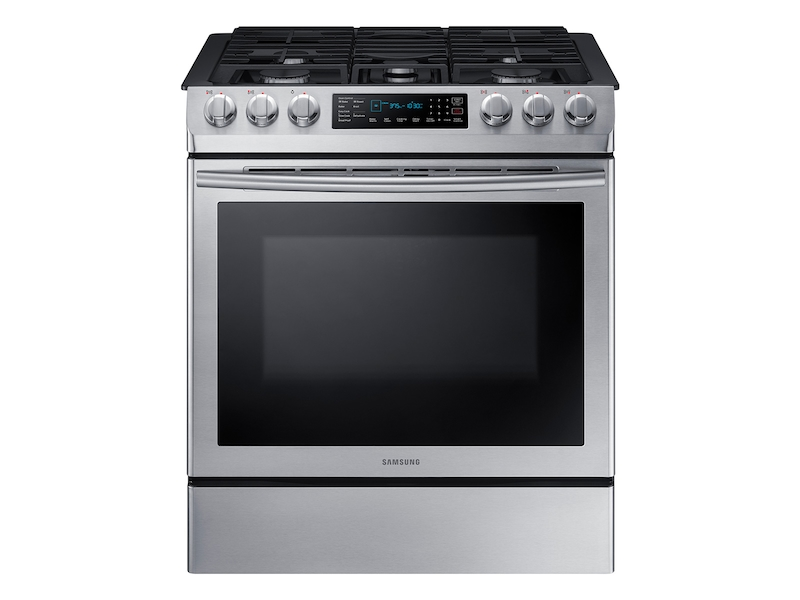 5 8 Cu Ft Slide In Gas Range With Fan Convection Ranges