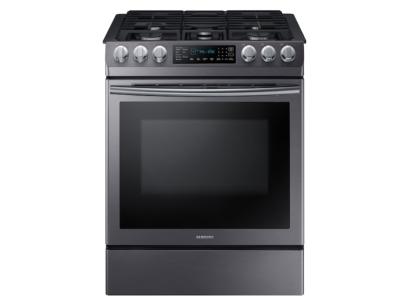 Slide In Gas Range With Fan Convection Ranges Nx58n9420sg Aa Samsung Us