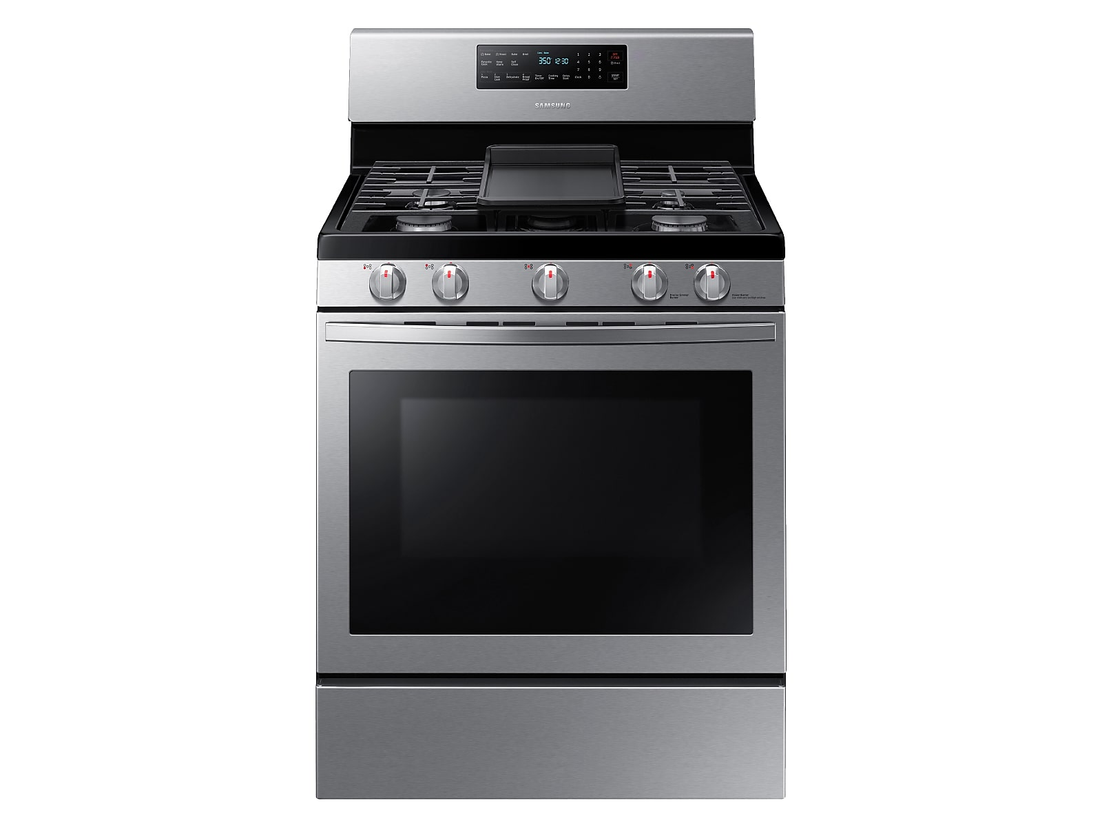 Samsung 5.8 cu. ft. Freestanding Gas Range with Convection in Stainless Steel(NX58R5601SS/AA)