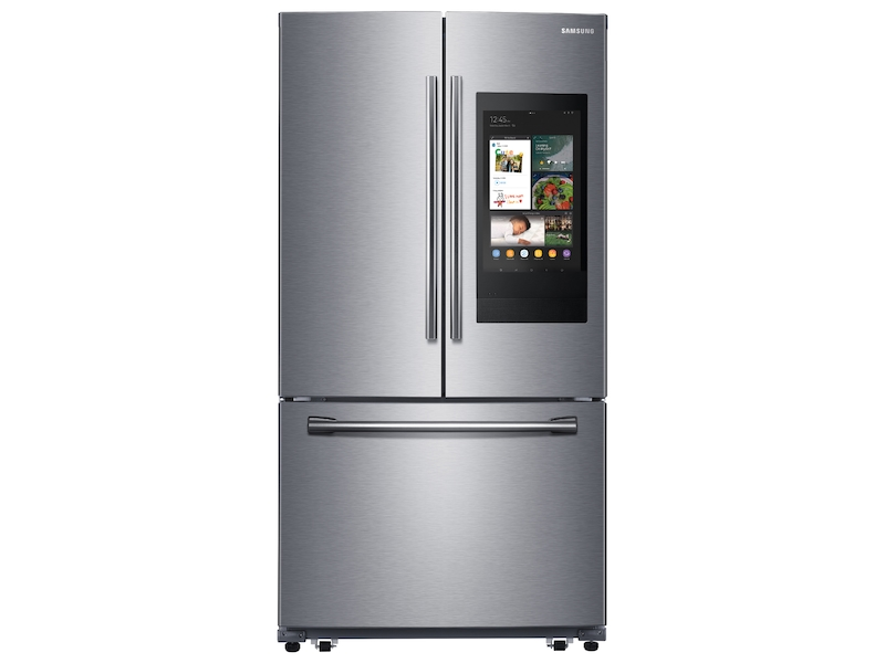 Samsung 26.5 cu. ft. 3-Door French Door Refrigerator with Family Hub - Black
