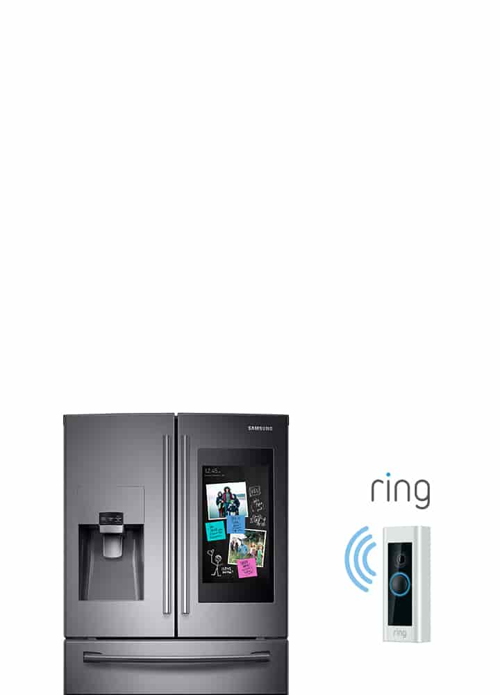 Buy a Family Hub™, get a free Ring Video Doorbell Pro.